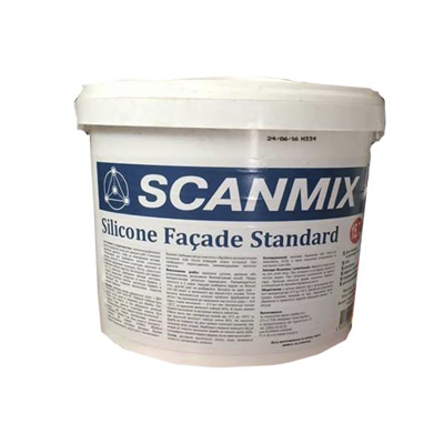 SCANMIX SILICONE FACADE STANDARD СИЛІКОНОВА ФАРБА ФАСАДНА, Львів, Україна